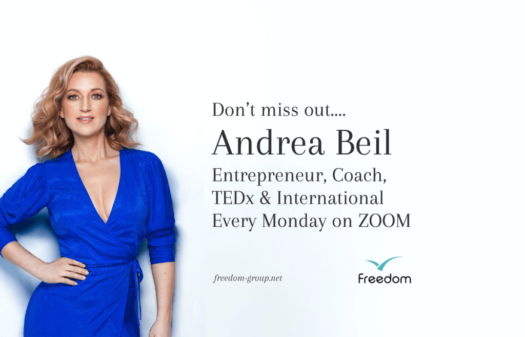 Freedom ZOOM call every monday